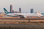 RUNWAY23.TADAさんが、成田国際空港で撮影したキャセイパシフィック航空 777-31Hの航空フォト(飛行機 写真・画像)