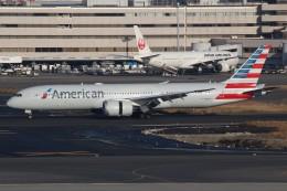 みっしーさんが、羽田空港で撮影したアメリカン航空 787-9の航空フォト(飛行機 写真・画像)