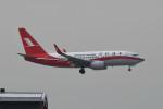 kuro2059さんが、香港国際空港で撮影した上海航空 737-76Dの航空フォト(飛行機 写真・画像)