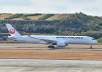 じーく。さんが、長崎空港で撮影した日本航空 A350-941XWBの航空フォト(飛行機 写真・画像)