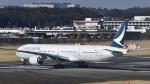 パンダさんが、成田国際空港で撮影したキャセイパシフィック航空 777-367の航空フォト(飛行機 写真・画像)
