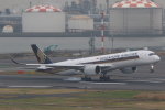 ANA744Foreverさんが、羽田空港で撮影したシンガポール航空 A350-941XWBの航空フォト(飛行機 写真・画像)