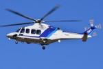 ブルーさんさんが、名古屋飛行場で撮影したオールニッポンヘリコプター AW139の航空フォト(飛行機 写真・画像)