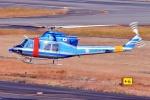 ブルーさんさんが、名古屋飛行場で撮影した大阪府警察 412EPの航空フォト(飛行機 写真・画像)