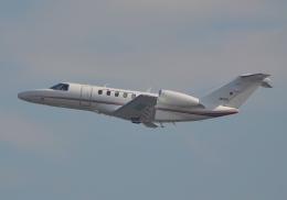 雲霧さんが、羽田空港で撮影した国土交通省 航空局 525C Citation CJ4の航空フォト(飛行機 写真・画像)