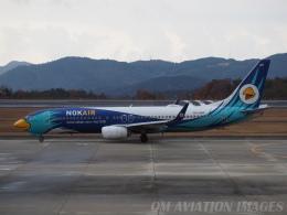 OM Aviation Imagesさんが、広島空港で撮影したノックエア 737-8FZの航空フォト(飛行機 写真・画像)