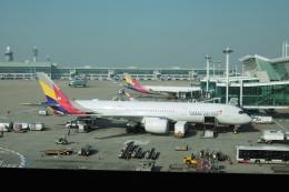 flyingmasさんが、仁川国際空港で撮影したアシアナ航空 A350-941の航空フォト(飛行機 写真・画像)