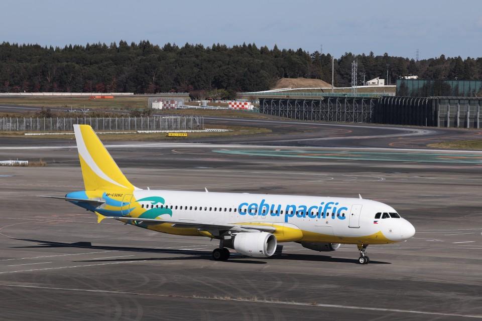 KAZFLYERさんのセブパシフィック航空 Airbus A320 (RP-C3262) 航空フォト