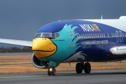 nh747dさんが、広島空港で撮影したノックエア 737-8FZの航空フォト(飛行機 写真・画像)