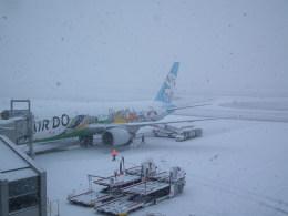 もっちゃこさんが、旭川空港で撮影したAIR DO 767-381の航空フォト(飛行機 写真・画像)