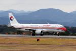 yabyanさんが、静岡空港で撮影した中国東方航空 A320-214の航空フォト(飛行機 写真・画像)