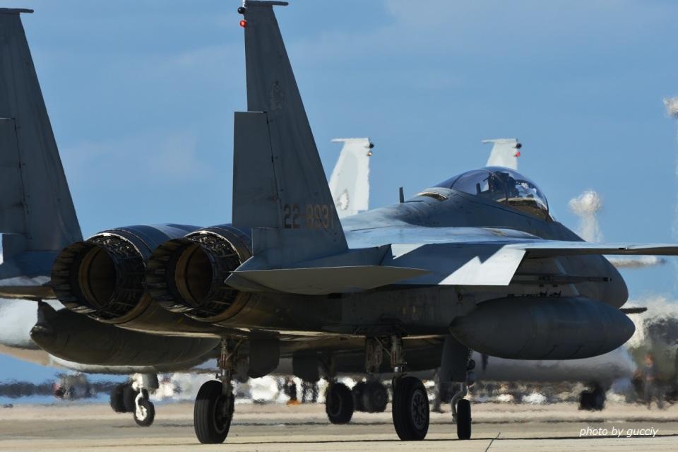 gucciyさんの航空自衛隊 Mitsubishi F-15J Eagle (22-8931) 航空フォト