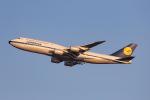 よんろくさんが、羽田空港で撮影したルフトハンザドイツ航空 747-830の航空フォト(飛行機 写真・画像)