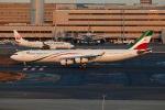 SIさんが、羽田空港で撮影したイラン・イスラム共和国政府 A340-313Xの航空フォト(飛行機 写真・画像)
