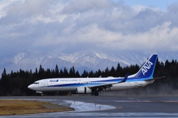 falconさんが、秋田空港で撮影した全日空 737-881の航空フォト(飛行機 写真・画像)