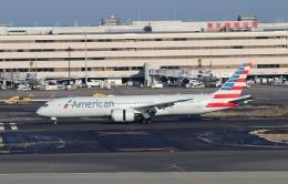 ハム太郎。さんが、羽田空港で撮影したアメリカン航空 787-9の航空フォト(飛行機 写真・画像)