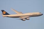mktさんが、羽田空港で撮影したルフトハンザドイツ航空 747-830の航空フォト(飛行機 写真・画像)