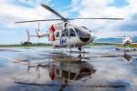 まんぼ しりうすさんが、福井空港で撮影したセントラルヘリコプターサービス BK117C-2の航空フォト(飛行機 写真・画像)