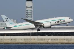 Wings Flapさんが、関西国際空港で撮影したZIPAIR 787-8 Dreamlinerの航空フォト(飛行機 写真・画像)