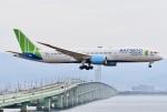 蒼くまさんが、関西国際空港で撮影したバンブー・エアウェイズ 787-9の航空フォト(飛行機 写真・画像)