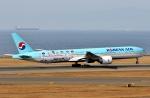 SKY TEAM B-6053さんが、中部国際空港で撮影した大韓航空 777-3B5/ERの航空フォト(飛行機 写真・画像)