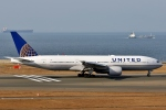 SKY TEAM B-6053さんが、中部国際空港で撮影したユナイテッド航空 777-222の航空フォト(飛行機 写真・画像)