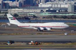 tasho0525さんが、羽田空港で撮影したドバイ・ロイヤル・エア・ウィング 747-422の航空フォト(飛行機 写真・画像)