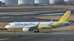 パンダさんが、成田国際空港で撮影したセブパシフィック航空 A320-214の航空フォト(飛行機 写真・画像)