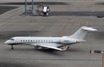 ハム太郎。さんが、羽田空港で撮影したプライベートエア BD-700 Global Express/5000/6000の航空フォト(飛行機 写真・画像)