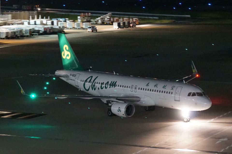 pringlesさんの春秋航空 Airbus A320 (B-6821) 航空フォト