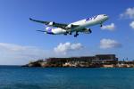 TRAVAIRさんが、プリンセス・ジュリアナ国際空港で撮影したエールフランス航空 A340-313Xの航空フォト(飛行機 写真・画像)