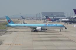 神宮寺ももさんが、関西国際空港で撮影した大韓航空 777-3B5/ERの航空フォト(飛行機 写真・画像)