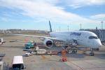 ちゃぽんさんが、羽田空港で撮影したルフトハンザドイツ航空 A350-941の航空フォト(飛行機 写真・画像)