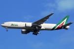 まえちんさんが、成田国際空港で撮影したアリタリア航空 777-2Q8/ERの航空フォト(飛行機 写真・画像)