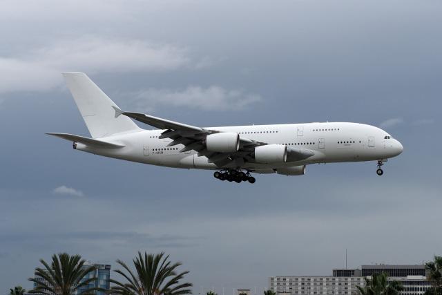 LAX Spotterさんが、ロサンゼルス国際空港で撮影したエールフランス航空 A380-861の航空フォト(飛行機 写真・画像)