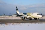 北の熊さんが、新千歳空港で撮影したグァンフィ ERJ-190-100 ECJ (Lineage 1000)の航空フォト(飛行機 写真・画像)