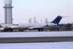北の熊さんが、新千歳空港で撮影したOジェッツ BD-700-1A10 Global 6000の航空フォト(飛行機 写真・画像)