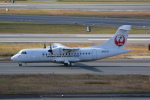 LEGACY-747さんが、伊丹空港で撮影した日本エアコミューター ATR-42-600の航空フォト(飛行機 写真・画像)