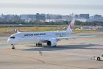 LEGACY-747さんが、福岡空港で撮影した日本航空 A350-941の航空フォト(飛行機 写真・画像)