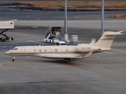FT51ANさんが、羽田空港で撮影したジェット・アビエーション・ビジネス・ジェット G650ER (G-VI)の航空フォト(飛行機 写真・画像)