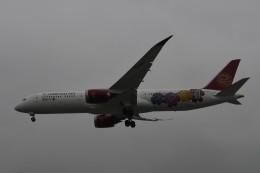 てるぞーさんが、上海虹橋国際空港で撮影した吉祥航空 787-9の航空フォト(飛行機 写真・画像)