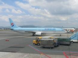 ヒロリンさんが、金海国際空港で撮影した大韓航空 737-9B5の航空フォト(飛行機 写真・画像)