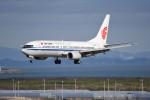 kumagorouさんが、仙台空港で撮影した中国国際航空 737-86Nの航空フォト(飛行機 写真・画像)