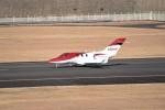 kumagorouさんが、仙台空港で撮影したホンダ・エアクラフト・カンパニー HA-420 HondaJetの航空フォト(飛行機 写真・画像)