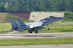 スカルショットさんが、小松空港で撮影した航空自衛隊 F-15J Eagleの航空フォト(飛行機 写真・画像)