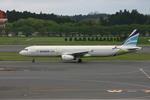 アイスコーヒーさんが、成田国際空港で撮影したエアプサン A321-131の航空フォト(飛行機 写真・画像)