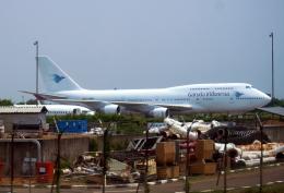 航空フォト:EC-MRM ガルーダ・インドネシア航空 747-400