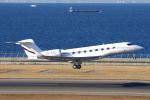 yabyanさんが、中部国際空港で撮影した不明 G650 (G-VI)の航空フォト(飛行機 写真・画像)