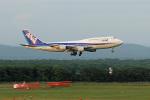スカルショットさんが、新千歳空港で撮影した全日空 747-481(D)の航空フォト(飛行機 写真・画像)