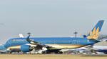 パンダさんが、成田国際空港で撮影したベトナム航空 A350-941XWBの航空フォト(飛行機 写真・画像)